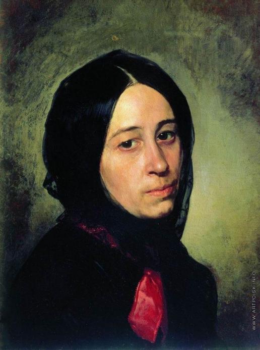 Неврев Н. В. Портрет М.И.Третьяковой