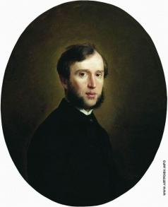 Неврев Н. В. Мужской портрет