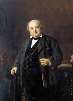 Неврев Н. В. Портрет М.С.Щепкина