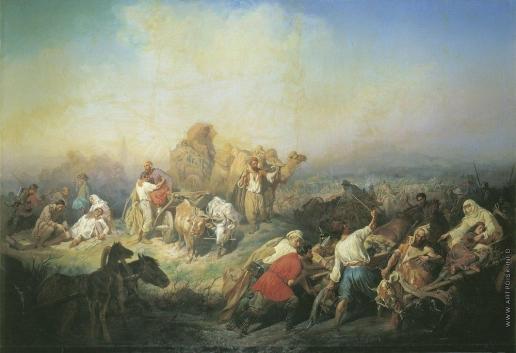 Филиппов К. Н. Военная дорога между Севастополем и Симферополем во время Крымской войны
