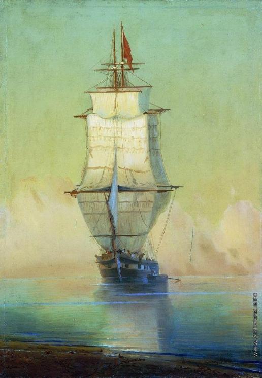 Айвазовский И. К. Корабль