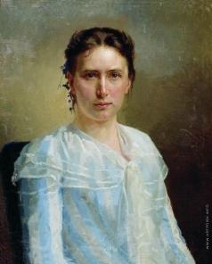Неврев Н. В. Женский портрет