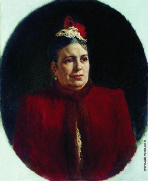 Неврев Н. В. Портрет Г.Н.Федотовой, актрисы Малого театра