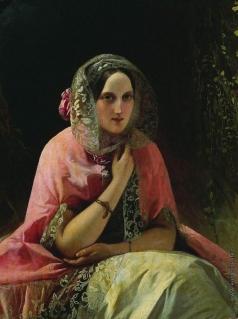 Нефф Т. А. Портрет великой кн. Марии Николаевны