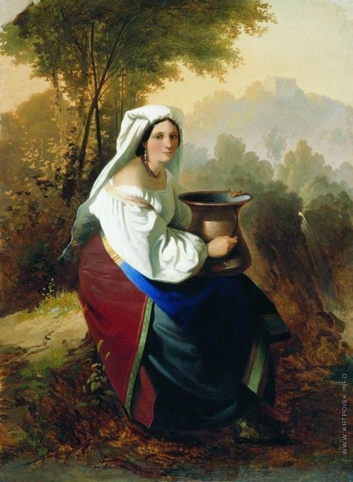 Нефф Т. А. Женщина с кувшином