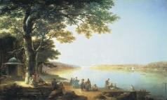 Воробьев М. Н. Босфор. Вид на Константинополь