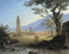 Воробьев М. Н. Итальянский пейзаж