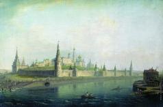 Воробьев М. Н. Вид Московского Кремля (со стороны Каменного моста)