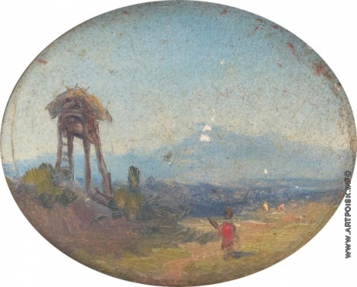 Айвазовский И. К. Вид на горы