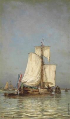 Боголюбов А. П. Корабль. Голландия