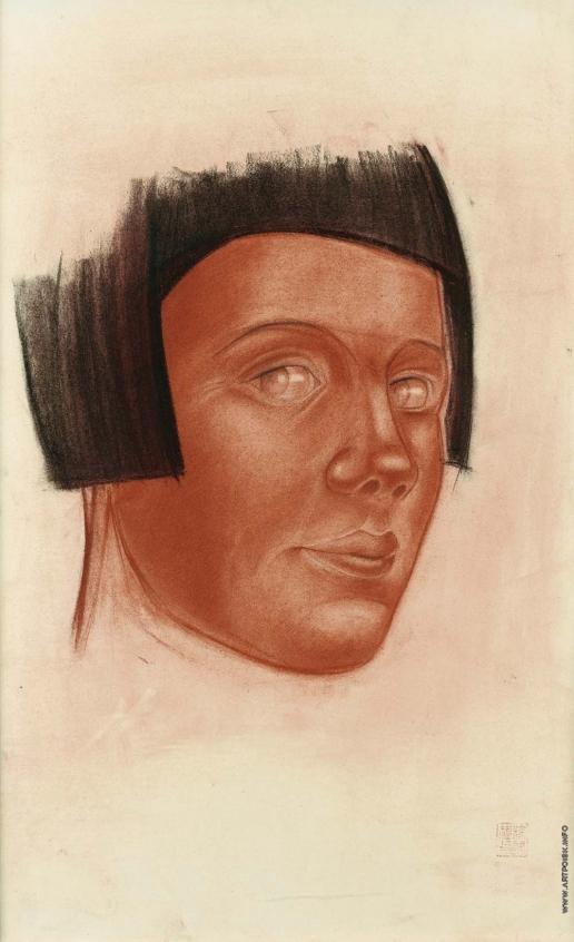 Яковлев А. Е. Женский портрет