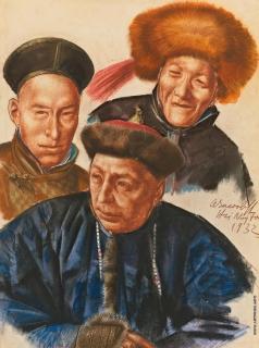 Яковлев А. Е. Монгольские вожди