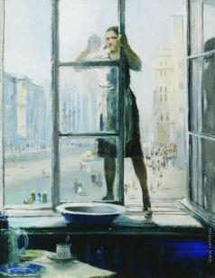 Пименов Ю. И. Весеннее окно