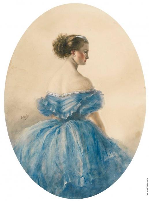 Зичи М. А. Портрет принцессы Анны Витгенштейн