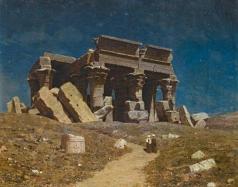 Шультце И. Ф. Развалины храма Ком Омбо в Египте