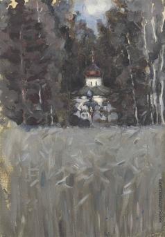 Якунчикова М. В. Церковь в Абрамцево