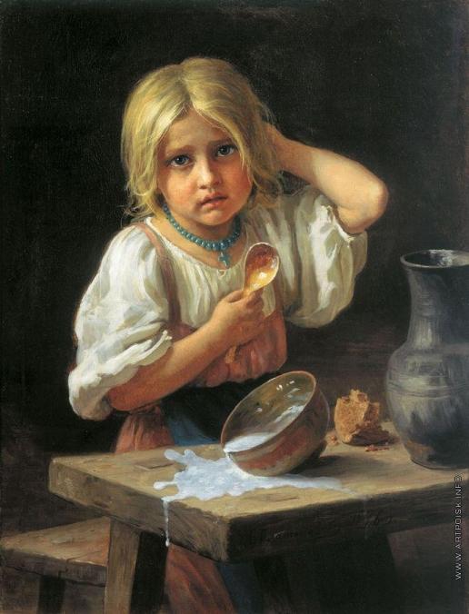 Платонов Х. П. Крестьянская девочка
