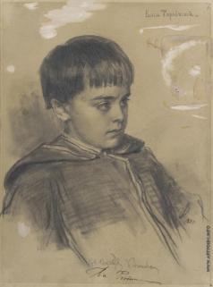 Репин И. Е. Портрет Васи Тарновского