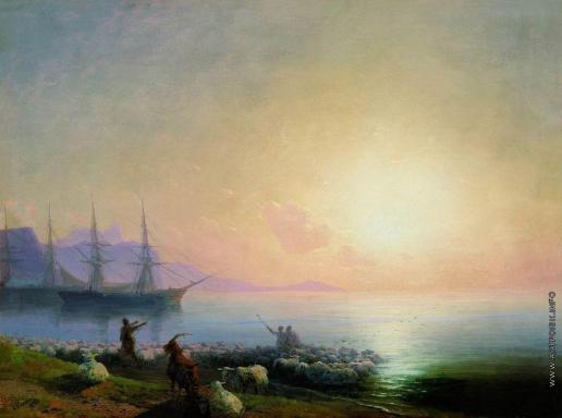 Айвазовский И. К. Купание овец
