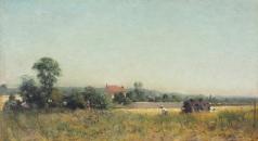 Похитонов И. П. В полях. Франция