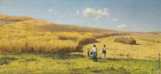 Орловский В. Д. Уборка хлеба на Украине