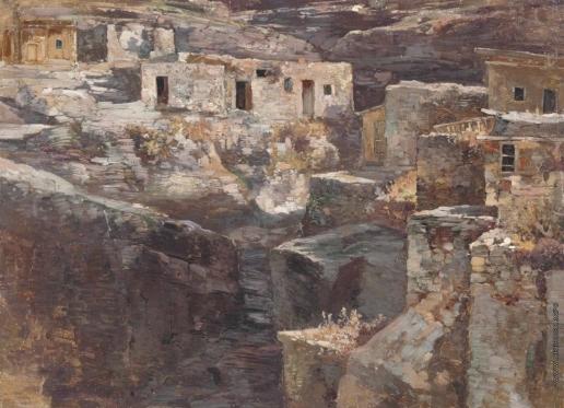 Рубо Ф. А. Кавказский аул