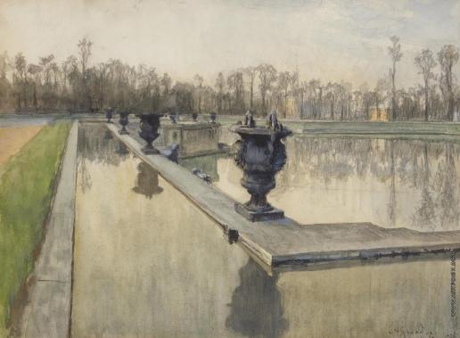 Бенуа А. Н. Фонтан Нептуна в Версале