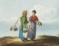Кольман К. И. Прачка и водоноска