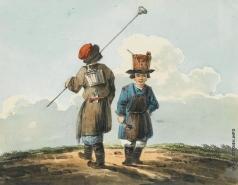 Кольман К. И. Работники с кистями и ведрами