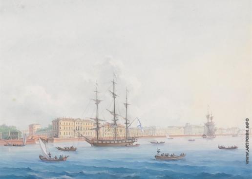 Юшков Ф. О. Вид в Санкт-Петербурге