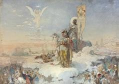Микешин М. О. Коронация Александра III