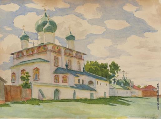 Браз О. Э. Церковь Знамения