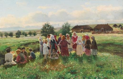 Маковский В. Е. Играющие дети