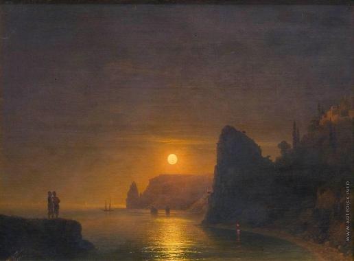 Айвазовский И. К. Лунная дорожка