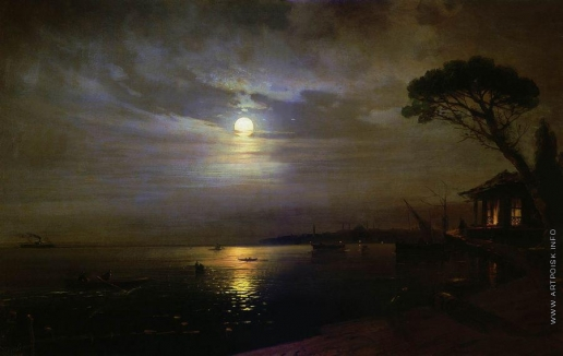 Айвазовский И. К. Лунная ночь