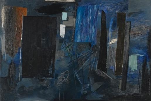 Анненков Ю. П. Полночь в Париже
