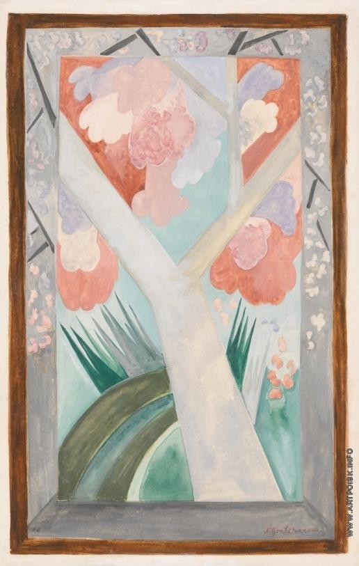Гончарова Н. С. Розовое дерево весной