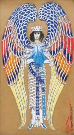Калмаков Н. К. Ангел святого Грааля