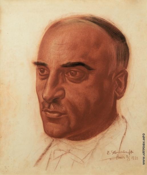 Шухаев В. И. Портрет Гаврила Григорьевича Пайчадзе
