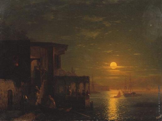 Айвазовский И. К. Лунная ночь на море