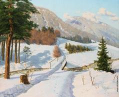 Бессонов Б. В. Зима в Дофине