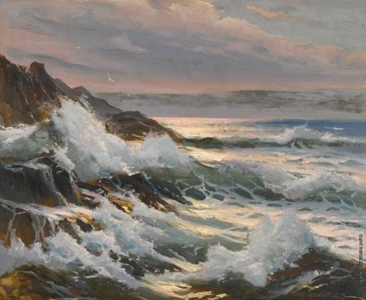 Вещилов К. А. Морской пейзаж
