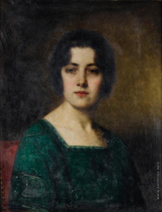 Харламов А. А. Портрет мадам Ферит