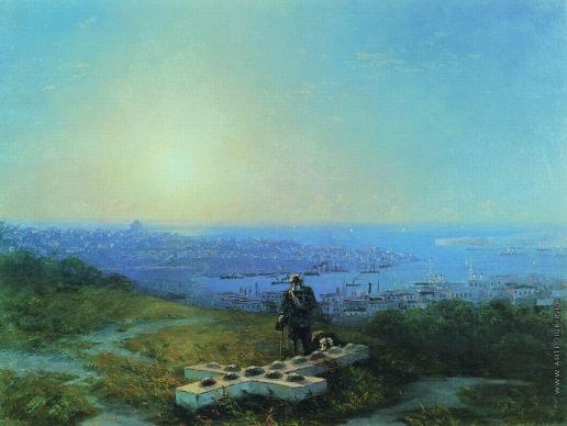 Айвазовский И. К. Малахов курган (Место, где смертельно был ранен Корнилов)