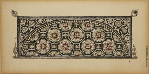 Чехонин С. В. Фронтиспис с геометрическими цветочным орнаментом