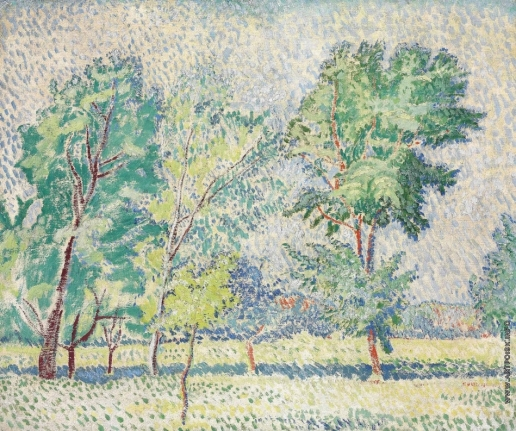 Баранов-Россинэ В. Д. Летний пейзаж