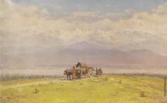 Занковский И. Н. Алозанская долина