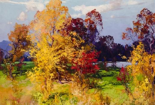 Колесников С. Ф. Осенний пейзаж