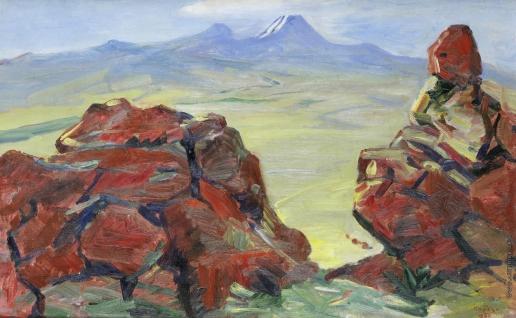 Сарьян М. С. Красные камни