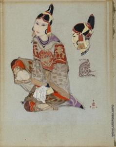 Рерих С. Н. Тибетский костюм